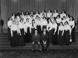 Redler the Square. Hospital Tea Party The Simmons College Chorale Boston, Massachusetts. U.S.A. Mrs Nancy McNeil and Family Avril Williams Sylvia Ann Jones - Jun-77 thumbnail