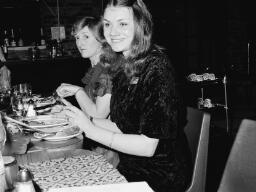 R. Humphreys, Trigfa, Garn. Rugby Annual Dinner, Mrs. Rosina Jones, Miss Lavinia Jones - Apr-77 thumbnail