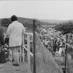 Mrs Eliz, Parry's Terrace-June Wright - Rev Glynne Evans, wife and son-Mr and Mrs R G Griffiths, Tanygrisiau - Penrhyn Carnival - Jul-69 thumbnail