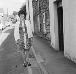 Megan Griffiths, Isaltt - Miss Playter - Aberfan - Llan Carnival - Rhian, Bala - Sep-69 thumbnail
