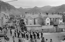 "Armistice Parade at Hospital "" Cyril Williams. C. E. G. B. Fireworks. thumbnail"