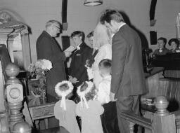 """Wedding"" Rhian Jones - Ieuan Davies; One Neg only - Nov-69 thumbnail"